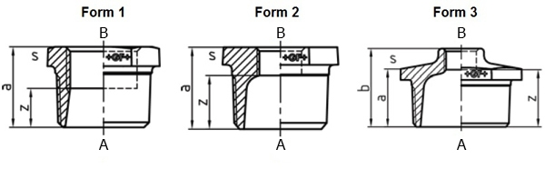 Malleable Iron Reducing Bush Forms