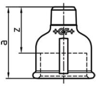 Malleable Iron Reducing Socket