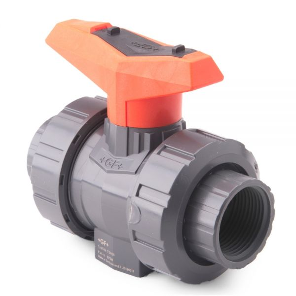 Lever Ball Valve Female BSP Thread Connector Service Point Black Tap Hand