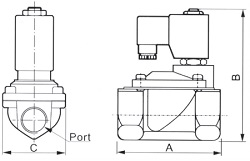 KM-Pilot-Operated-Norm-both-Size-diagram